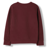 BRIAN Burgundy -  Knitted Crew Neck Sweatshirt 2