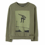 BRIAN City Khaki Ollie - Crew Neck Sweatshirt