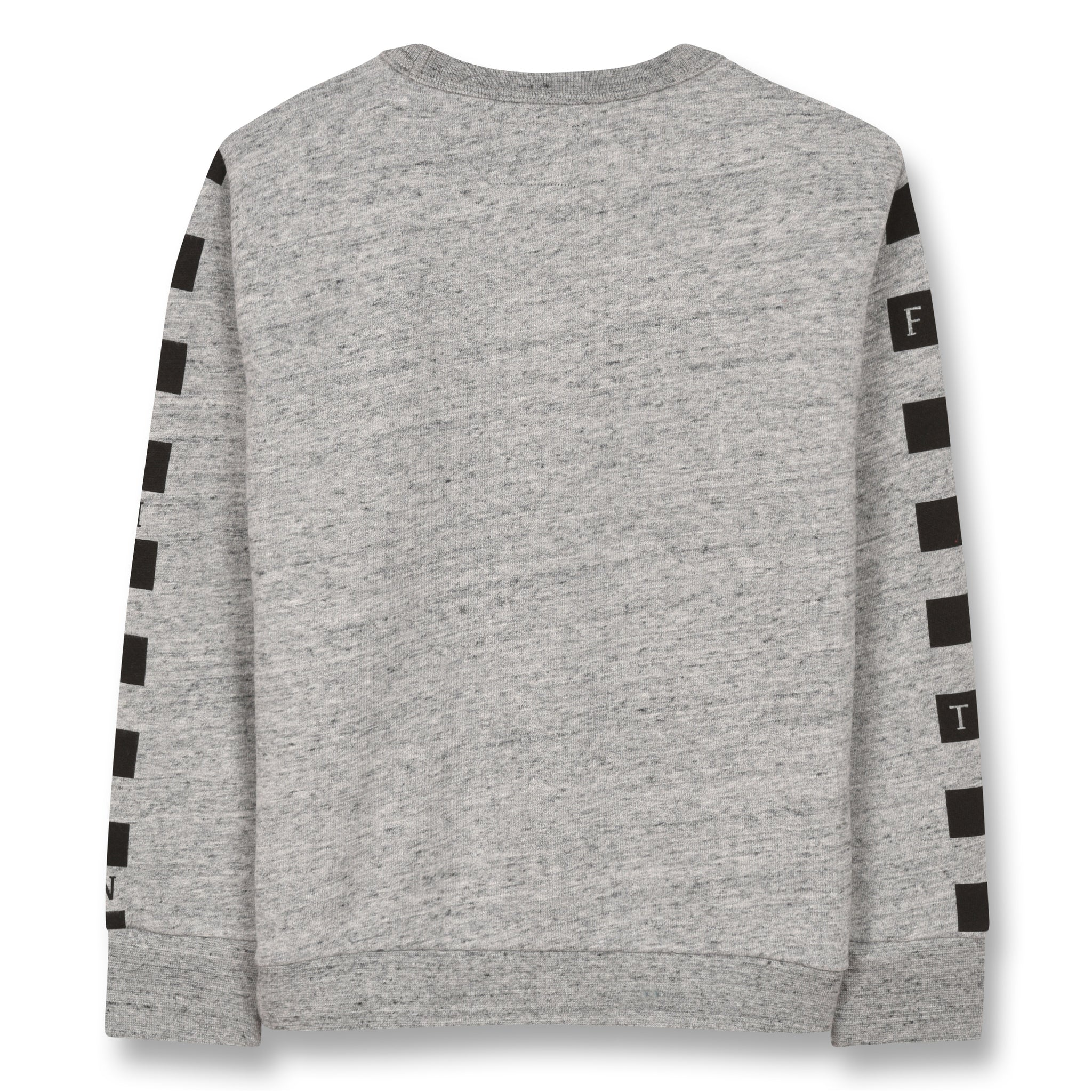 BRIAN Heather Grey Cool Cat - Crew Neck Sweatshirt 2