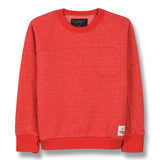BRIAN Heather Red - Crew Neck Sweatshirt 1