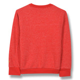 BRIAN Heather Red - Crew Neck Sweatshirt 2