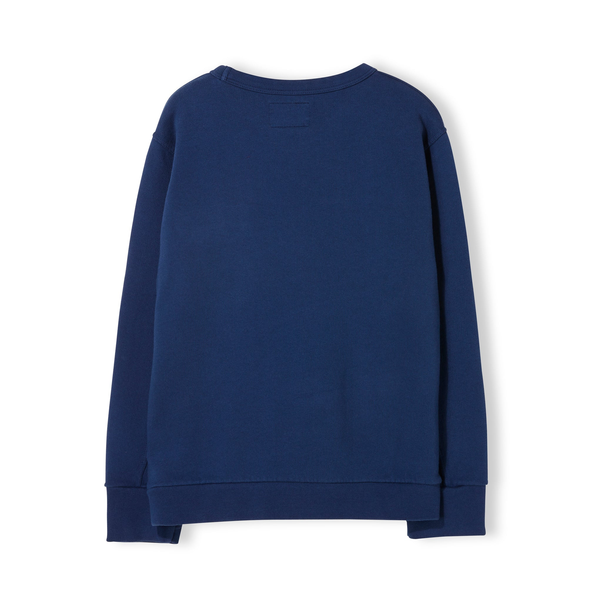 BRIAN Indi Blue - Boy Knitted Crew Neck Sweatshirt 2
