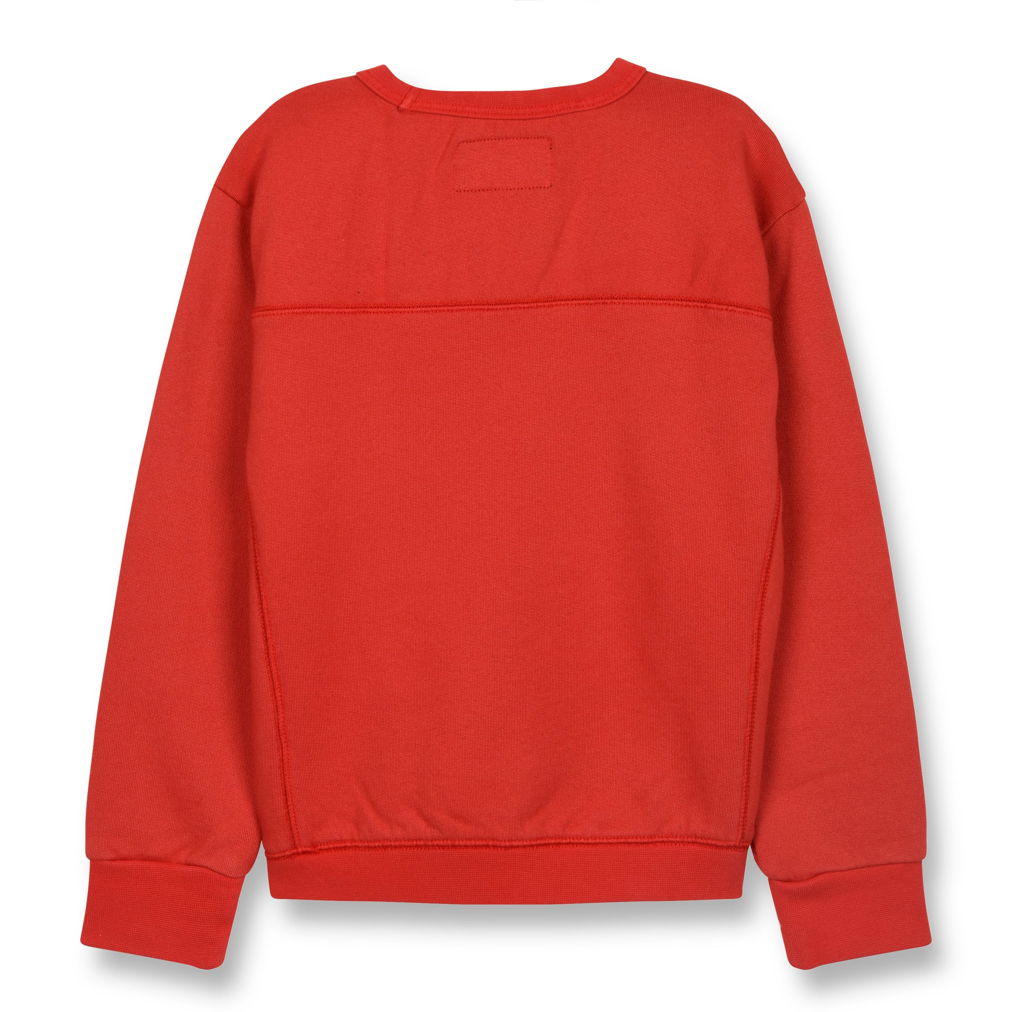 BRIAN Poppy Red - Crew Neck Sweatshirt 2