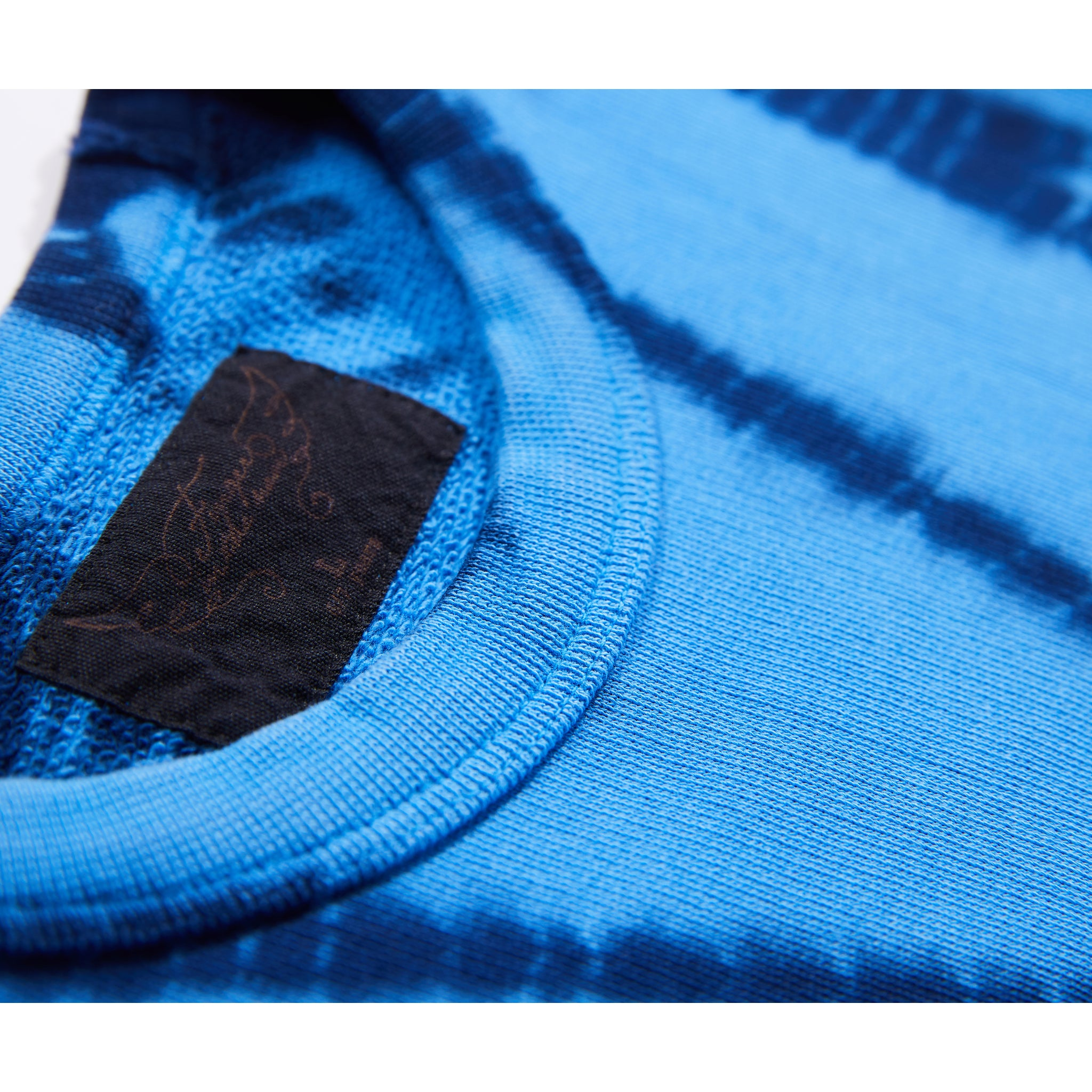 BRIAN Sharp Blue Bamboo Dye - Crew Neck Sweatshirt 3