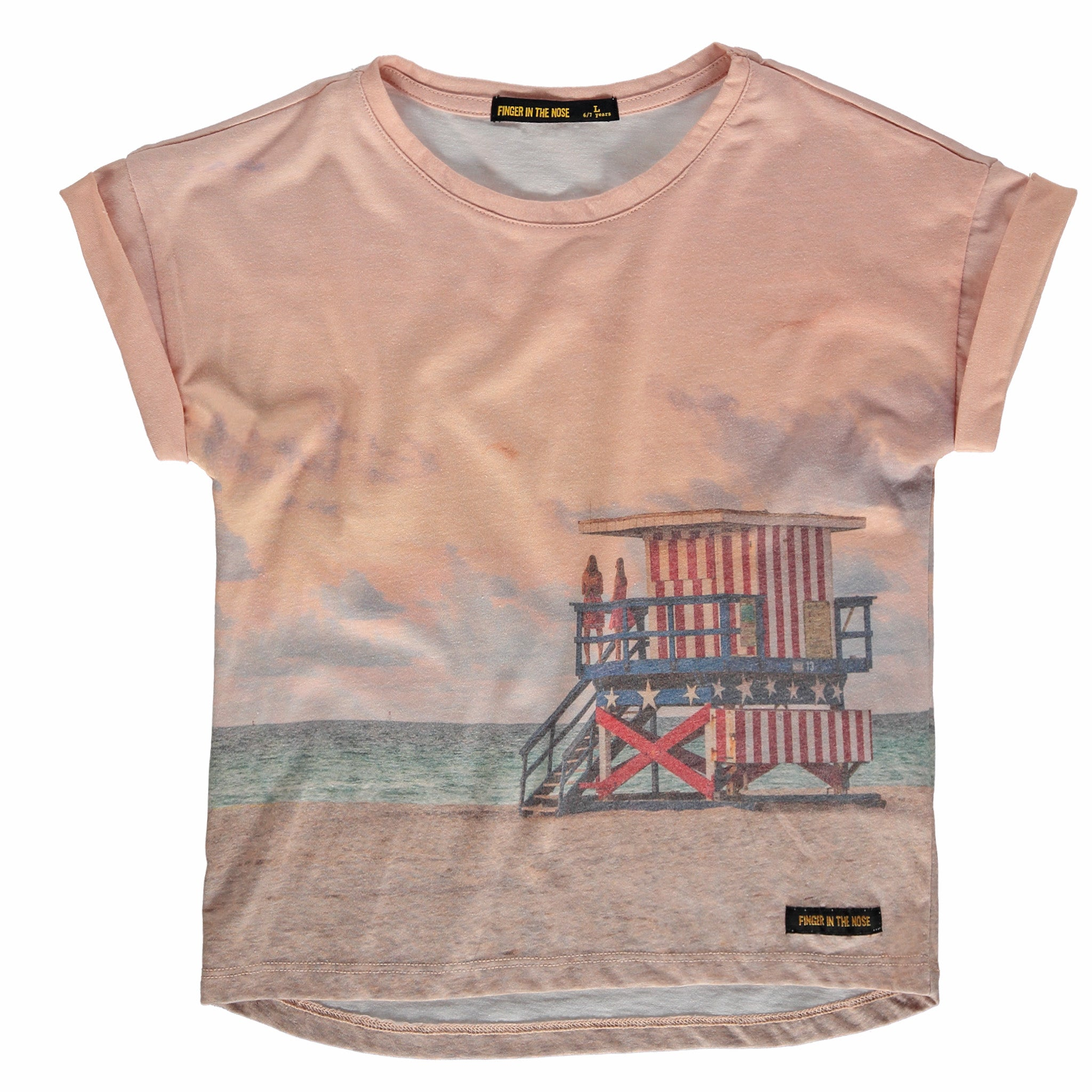 BRITNEY Multicolour Coast Guard - Girl Short Sleeves T-Shirt