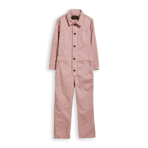 BROOK Pale Pink - Long Sleeves Overall 1