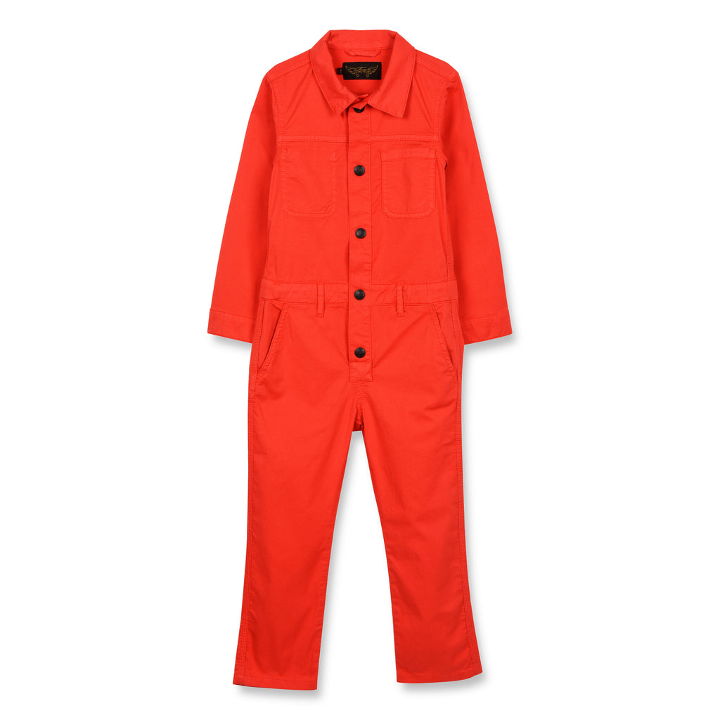BROOK Poppy Red - Worker Jumpsuit 1