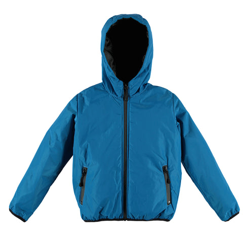 BUCKLEY RAIN Hope Blue - Boy Rain Zipped Jacket