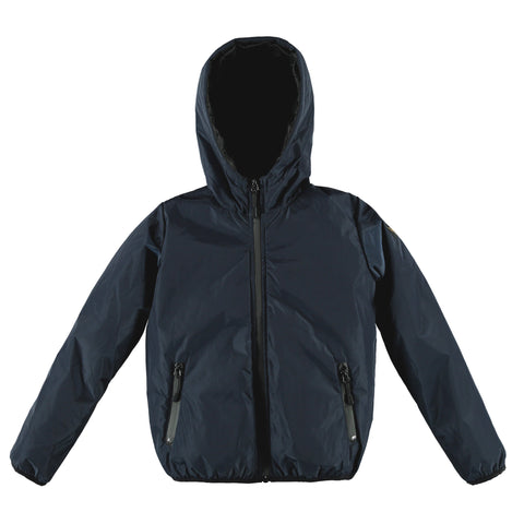 BUCKLEY RAIN Super Navy - Boy Rain Zipped Jacket