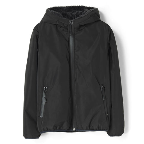 BUCKLEY RAIN Black - Hooded Rain Jacket