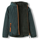 BUCKLEY RAIN College Green -  Woven Hooded Jacket 3