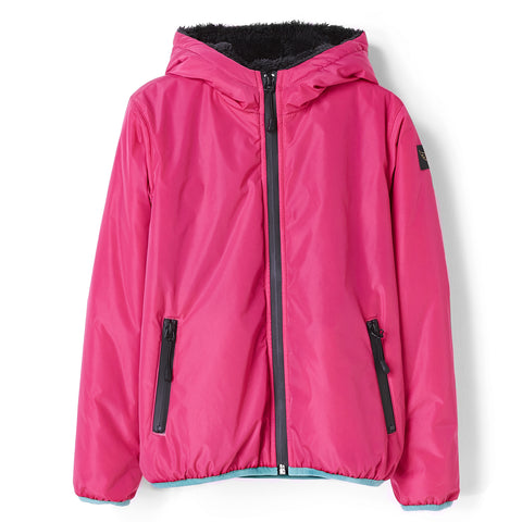 BUCKLEY RAIN Fuchsia - Hooded Rain Jacket