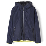 BUCKLEY RAIN Night Blue - Hooded Rain Jacket