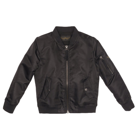 BUDDY  Black - Unisex Bomber Jacket
