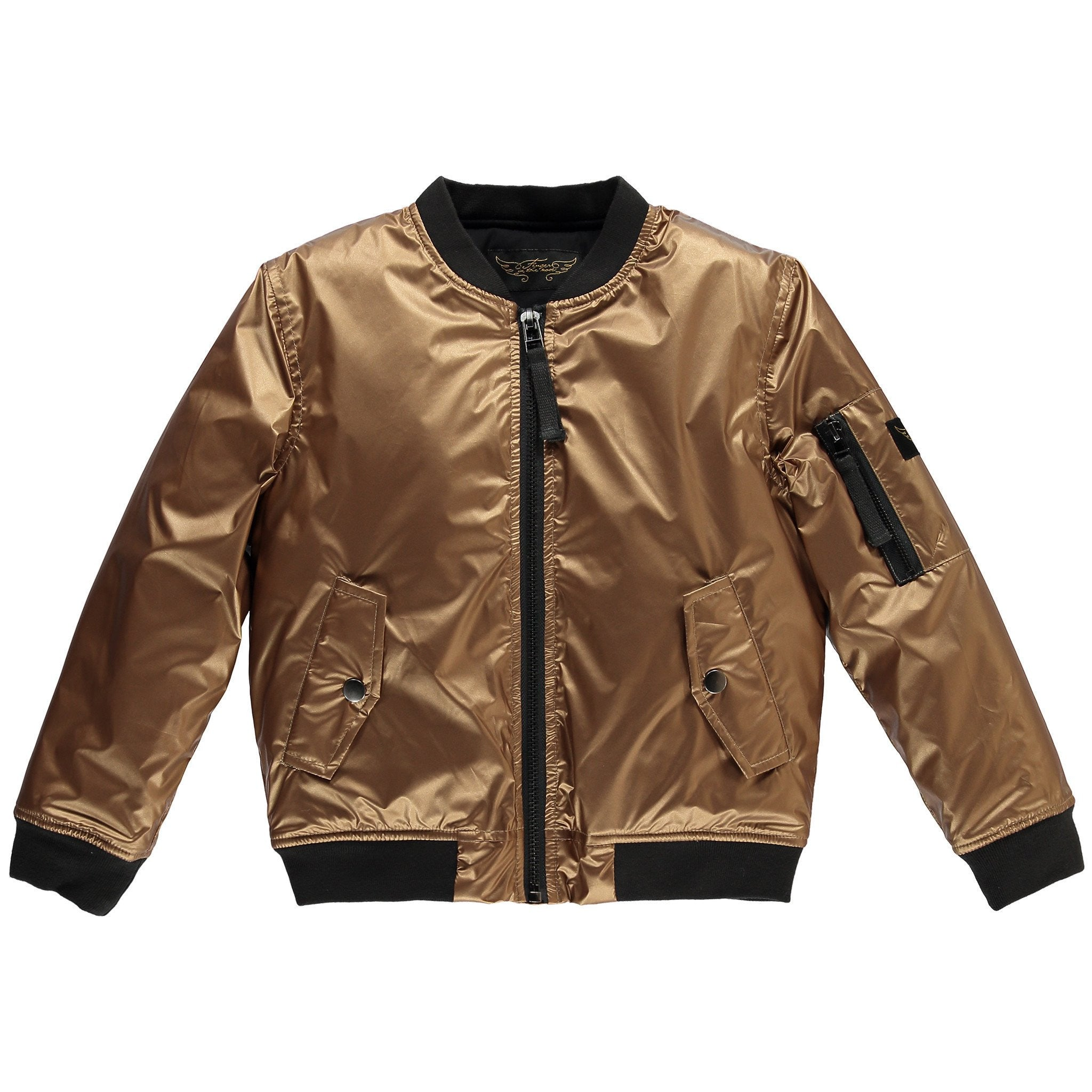BUDDY Copper Metal - Girls Woven Bomber Jacket