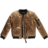 BUDDY Copper Metal - Girls Bomber Jacket