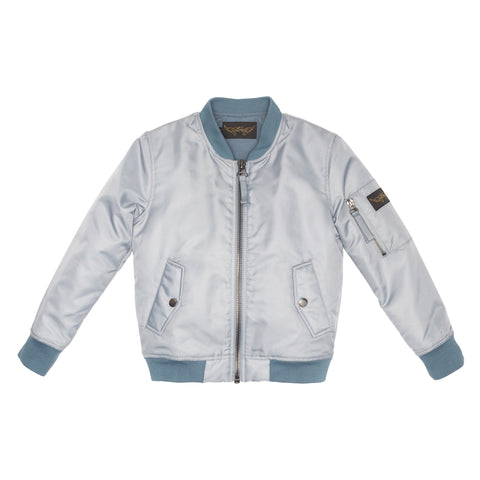 BUDDY Powder Blue - Unisex Bomber Jacket