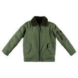 BUSTER Army Green -  Boys Bomber Jacket