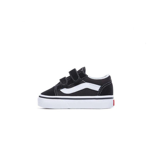 VANS Toddler Old Skool V - (Suede/Canvas) Black