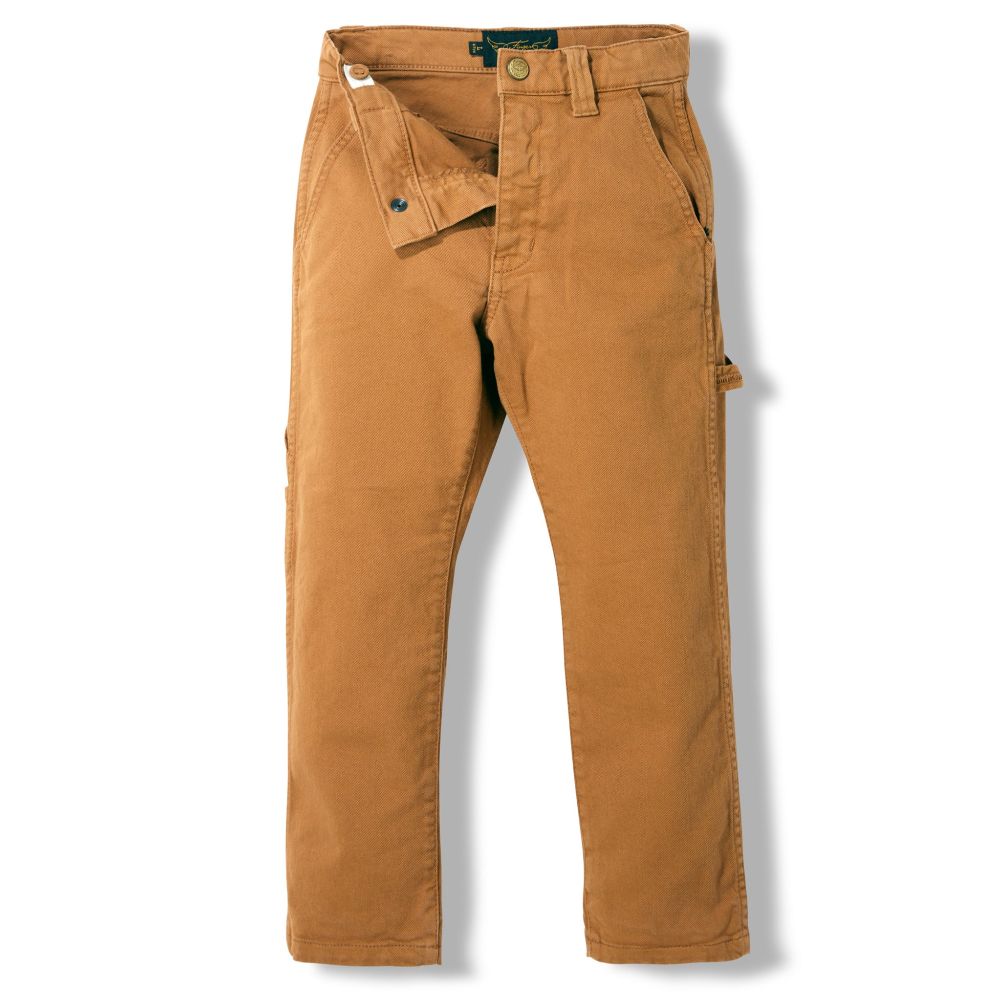 CARPENTER Caramel - MultiPocket Baggy Fit Pants 2