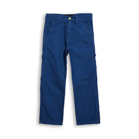CARPENTER Kraft Blue - Multipocket Baggy Fit Pants 1