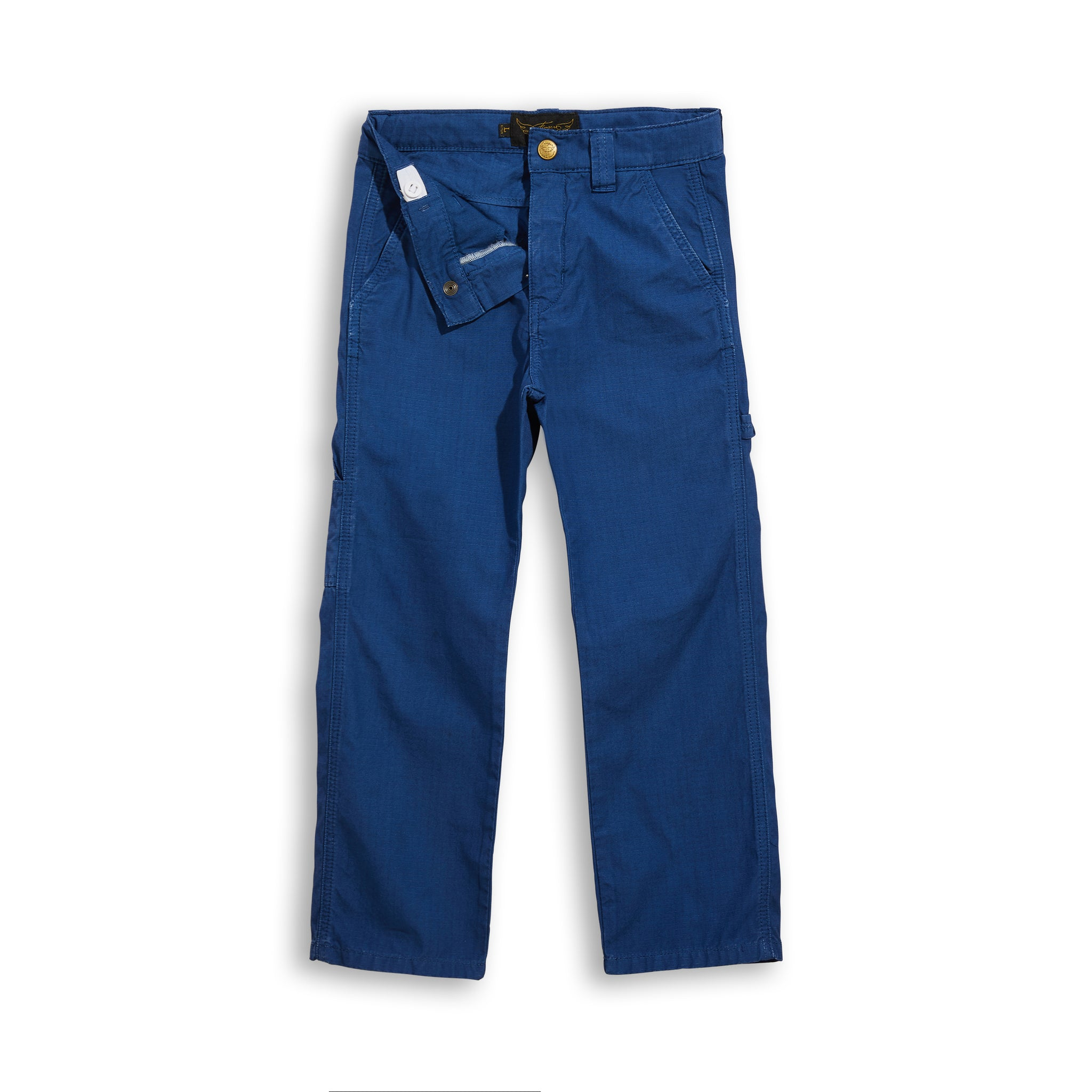 CARPENTER Kraft Blue - Multipocket Baggy Fit Pants 4