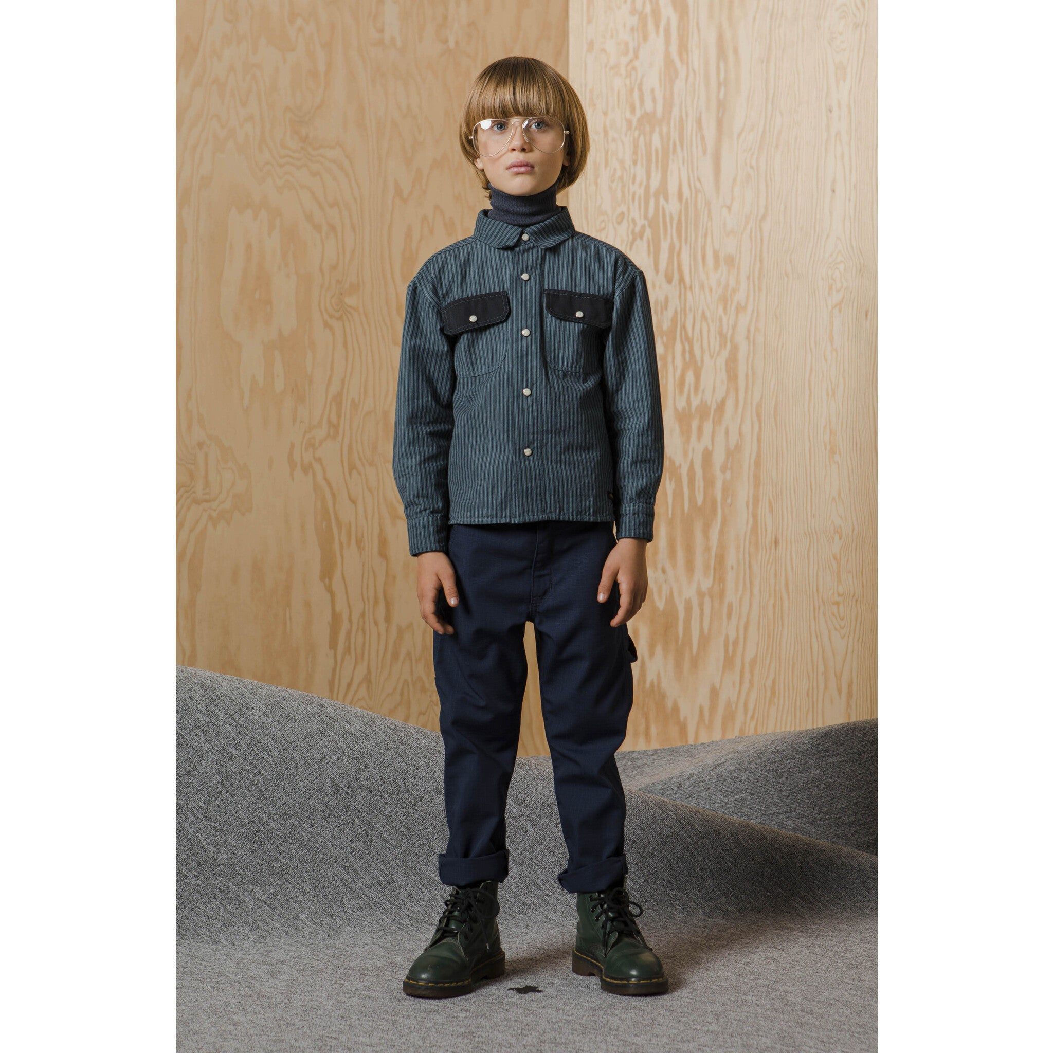 CARPENTER Sailor Blue - MultiPocket Baggy Fit Pants