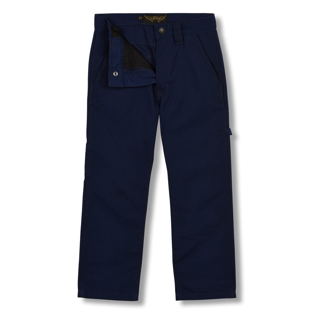 CARPENTER Sailor Blue - MultiPocket Baggy Fit Pants 3