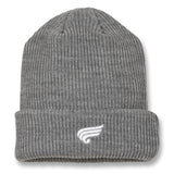 CARSON Heather Grey - Beanie 1
