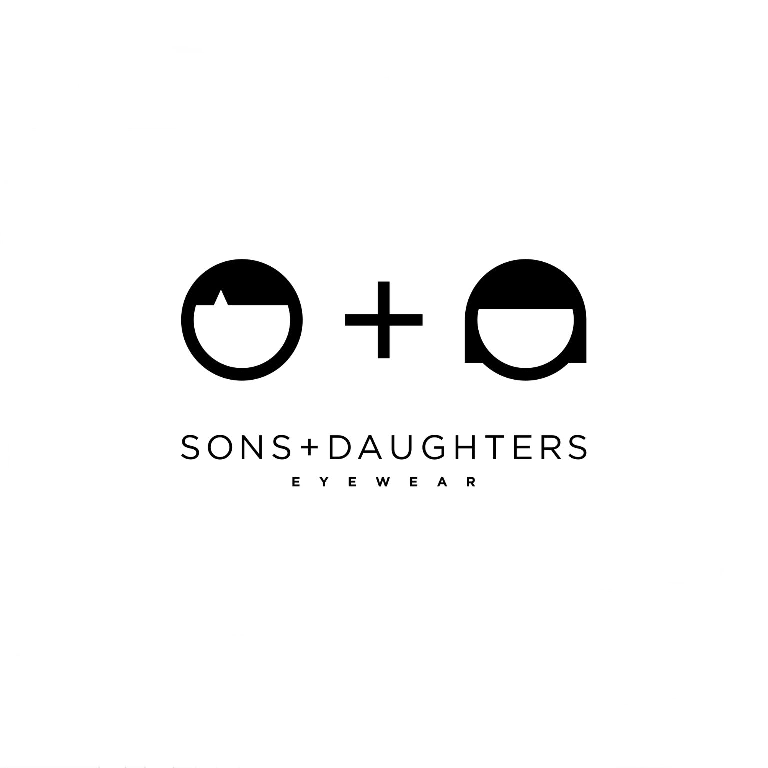 JACKIE Navy Sunglasses - by SONS + DAUGHTERS Eyewear
