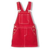 CHERRY Red -  Woven Overall Dress 1