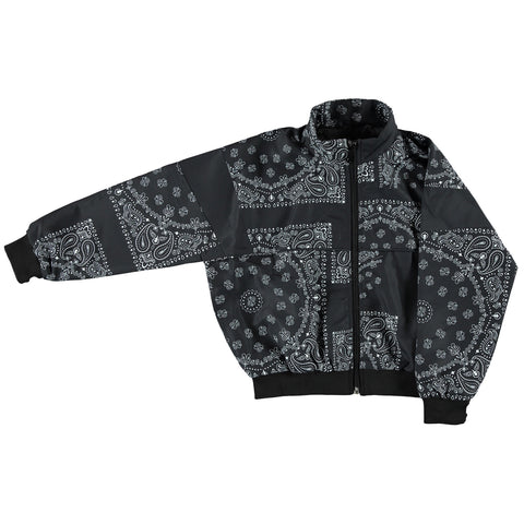 COUNTDOWN Black Bandana - Girl Tracksuit Jacket