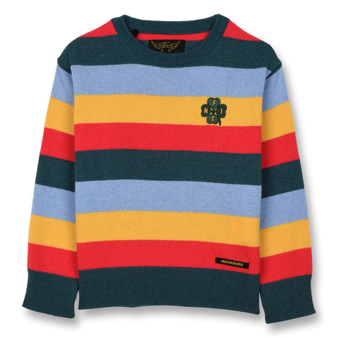 COUNTY Multicolor Stripes - Long Sleeves Jumper 1