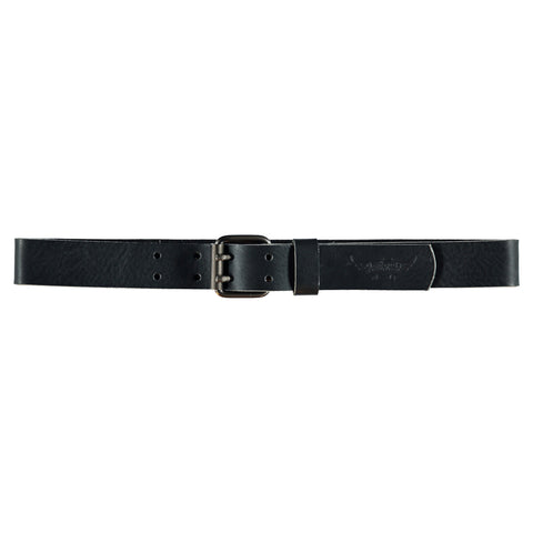 CURTIS Black - Leather Belt by FITN
