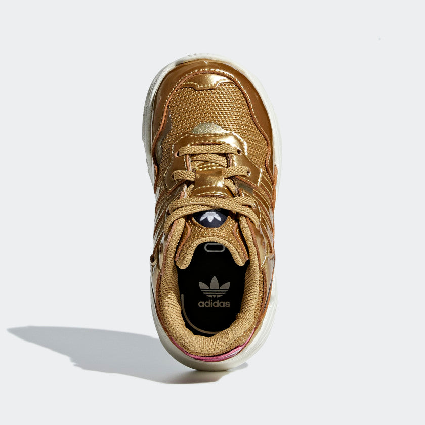 ADIDAS YUNG-96 El I - Gold Metal-Off White