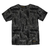 DALTON Slate Grey Skateboards - Short Sleeve T-Shirt
