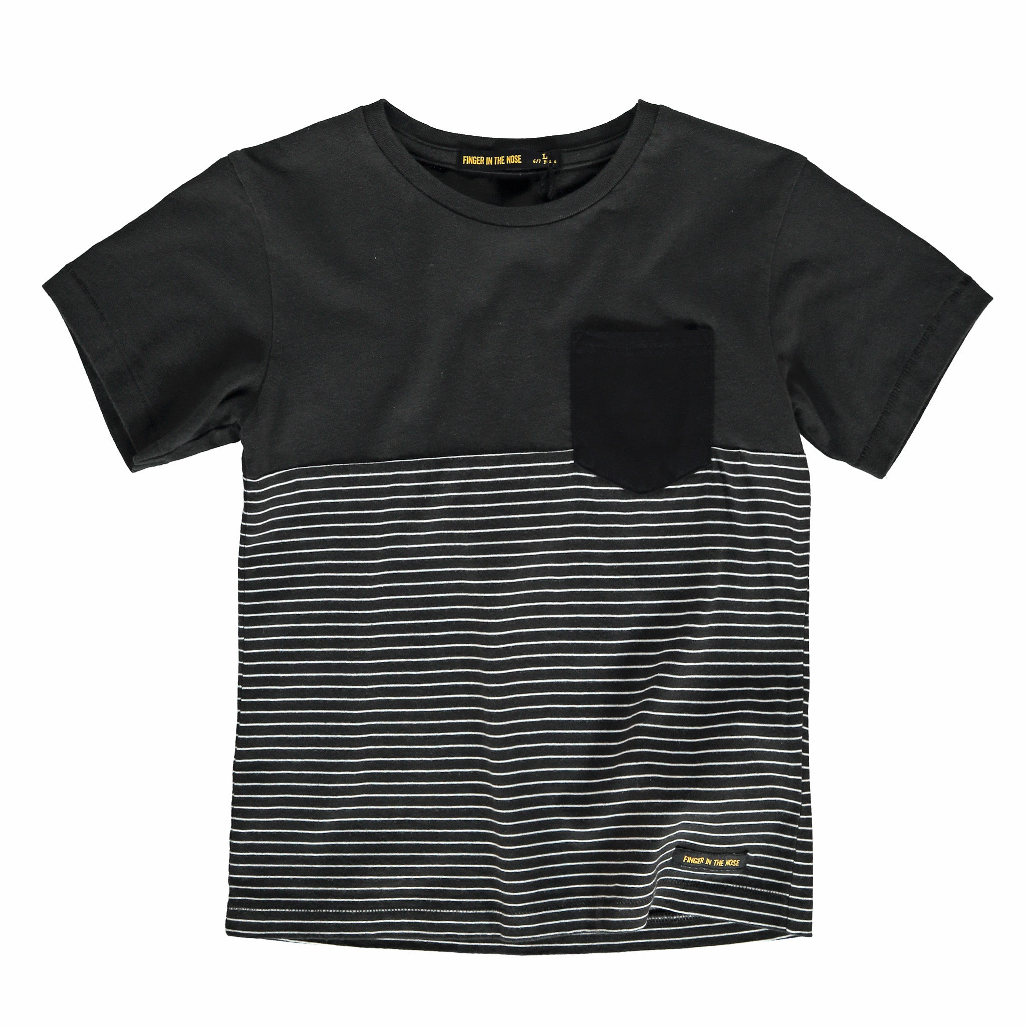 DALTON Summer Black Stripes - Short Sleeve T-Shirt