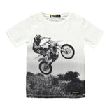 DALTON Off White Desert Road - Boy Jersey Short Sleeves T-Shirt
