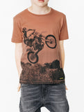 DALTON Red Sand Desert Road - Boy Jersey Short Sleeves T-Shirt