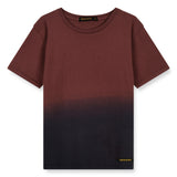 DALTON Burgundy Dip Dye - Short Sleeves T-Shirt 1