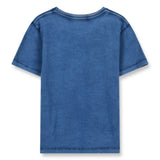 DALTON Kraft Blue Moto Tiger - Short Sleeves T-Shirt 2