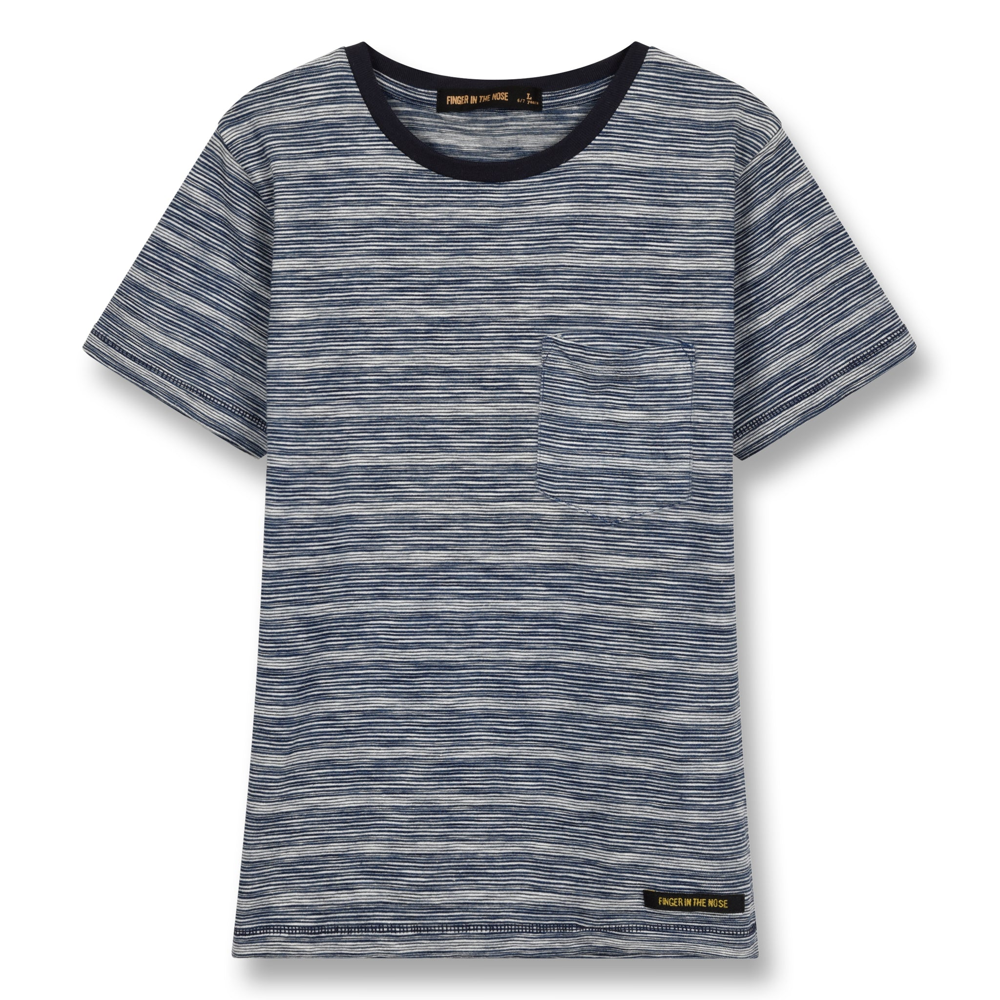 DALTON Kraft Stripes - Short Sleeves T-Shirt 1