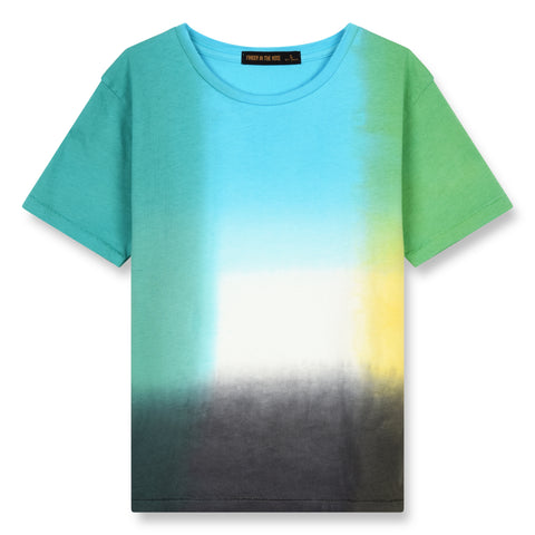 DALTON Multicolor Tie & Dye - Short Sleeves T-Shirt 1