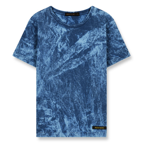 DALTON Ocean Blue Skateboard - Short Sleeves T-Shirt 1