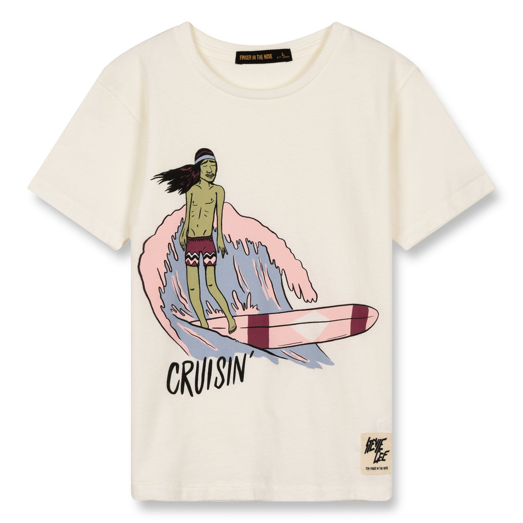 DALTON Off White Cruisin - Short Sleeves T-Shirt 1