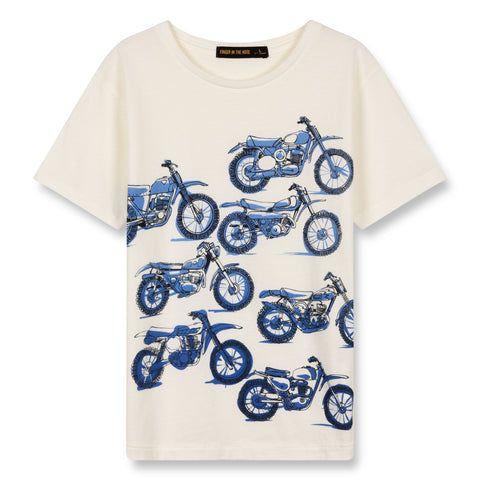 DALTON Off White Moto Squad - Short Sleeves T-Shirt 1