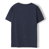 DALTON Super Navy Folk Moto - Boy Knitted Jersey T-Shirt 3