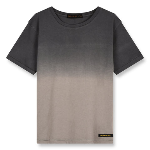 DALTON Warm Grey Dip Dye - Short Sleeves T-Shirt 1