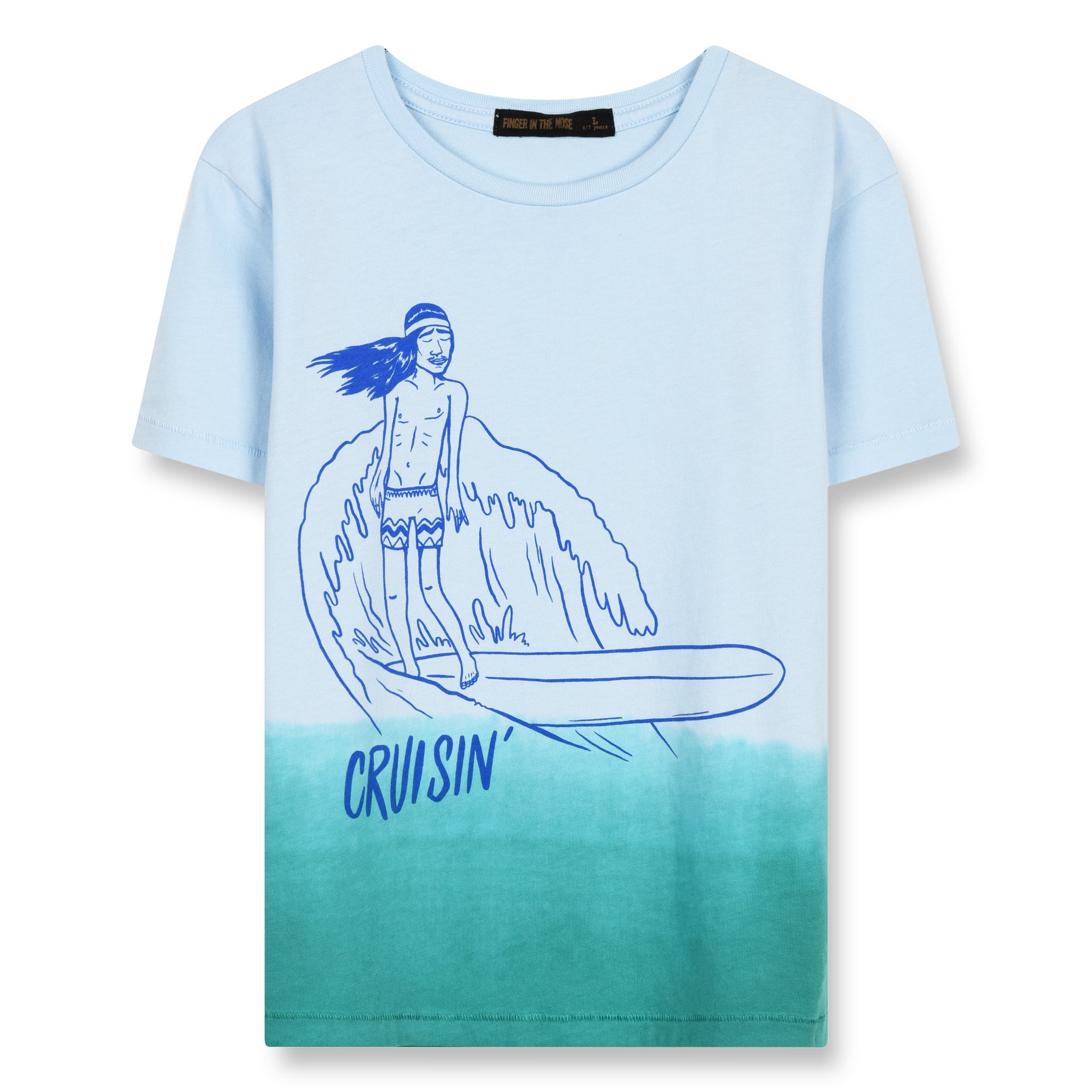 DALTON Wave Blue Cruisin - Short Sleeves T-Shirt 1