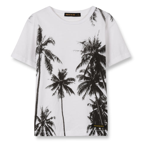 DALTON White Palms - Short Sleeves T-Shirt 1